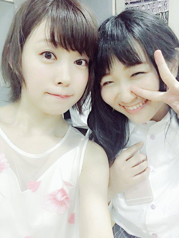 【画像あり】 りぃちゃんと一緒かぁ【NMB48】