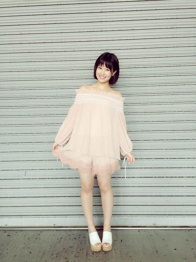 【朗報】HKT48朝長美桜ちゃんがスラッとしてる!!【AKB48みおたす】