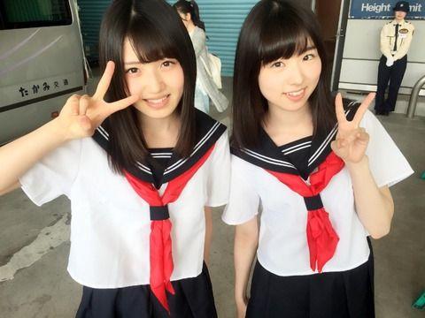 【AKB48】ゆいりーとさっほーの制服プレイの、指名料は10秒1646円w【村山彩希・岩立沙穂】