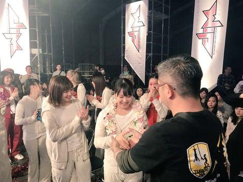 【悲報】みるるんが「豆腐プロレス」トーナメント決勝戦のネタバレ画像をアップwww【NMB48・白間美瑠】