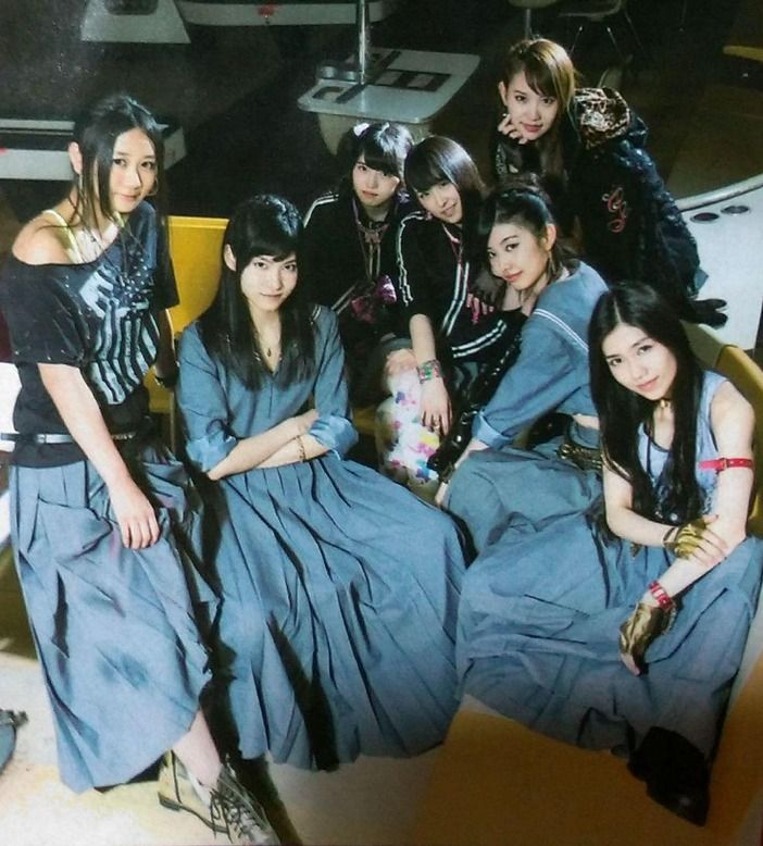 【AKB48】マジすか学園5「矢場久根女子商業高校」の集合写真かっけー!!【小ネタ5つ】