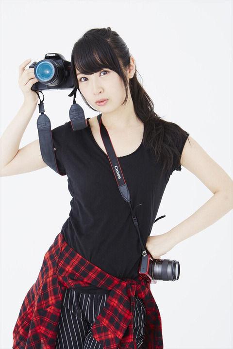 【SKE48】高柳明音がカメラマンとして本格デビュー