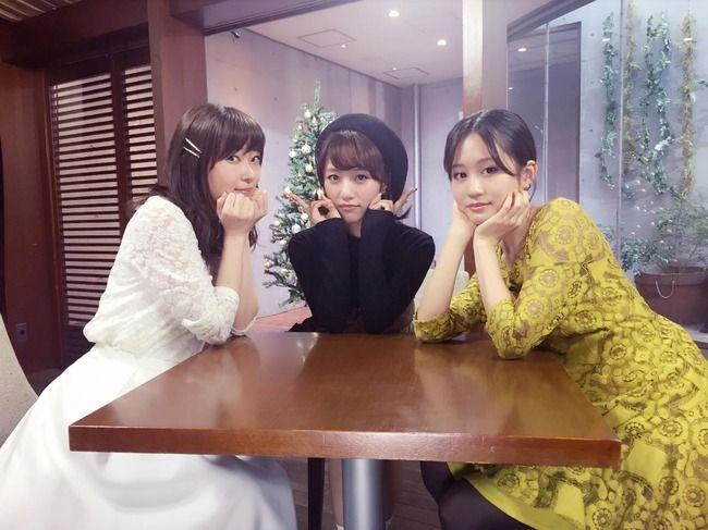 【速報】前田敦子×高橋みなみ×指原莉乃がフジテレビ「ボクらの時代」に出演決定!!【AKB48/HKT48】