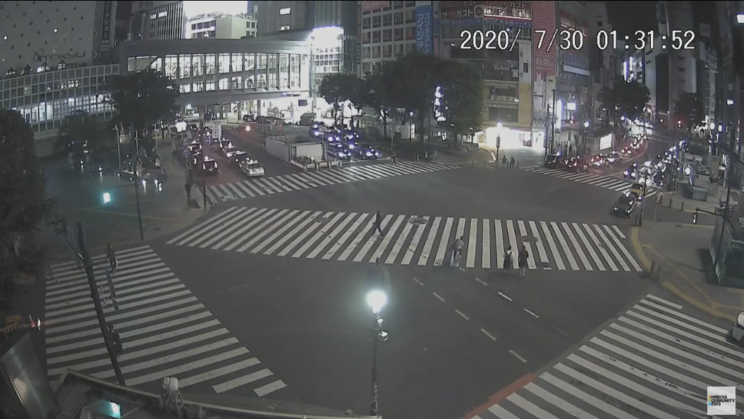 スクランブル live カメラ 交差点 渋谷