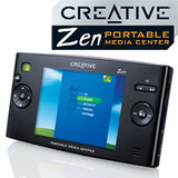 Zen Portable Media Center 20GB