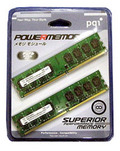 QD2800-1Gx2 パッケージ品 (PC2-6400-1GBx2)