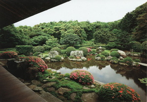 清水寺 月の庭
