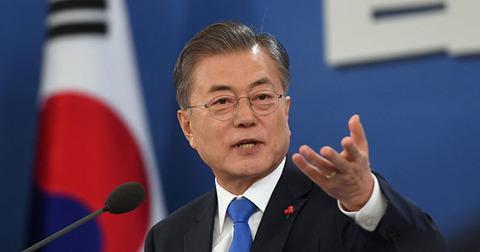 【無謀】文大統領「韓国のロケットで2030年に月着陸」の画像