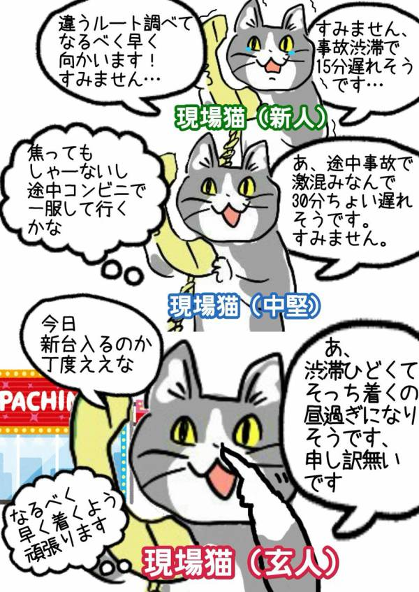 現場 猫 ヨシ