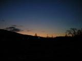 夜明け前のグラデーション