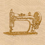 Vintage Sewing Machine_82012-01_150x150