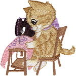Sewing Kitten_150x150