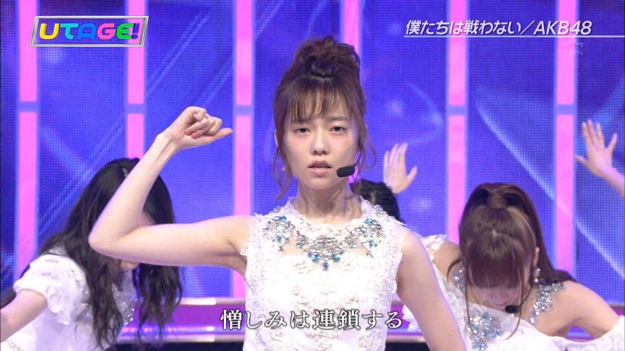 【エンタメ画像】【放送事故】AKB48島崎遥香になにがあったんや・・・