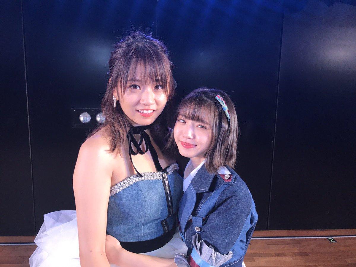 【エンタメ画像】【NMB48】島田晴香と市川美織の体格差!!!!!!!!!