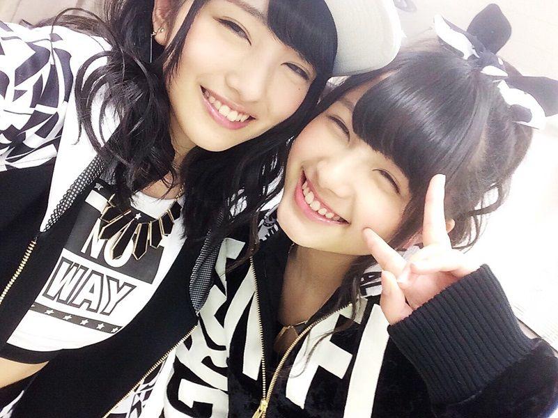 【エンタメ画像】【AKB48】大和田南那と向井地美音のルックスが互角!!