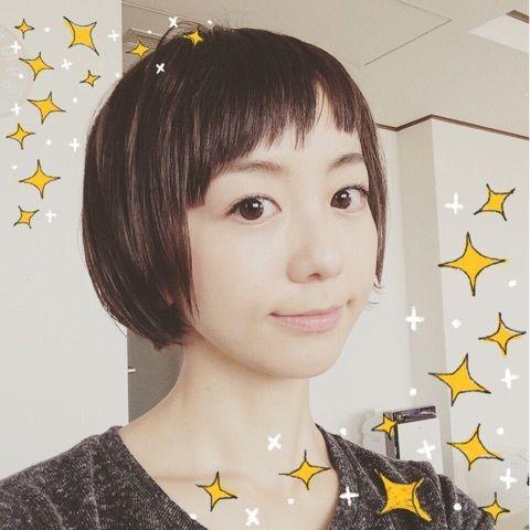 【エンタメ画像】福田萌さん(30)がますますショートカットに