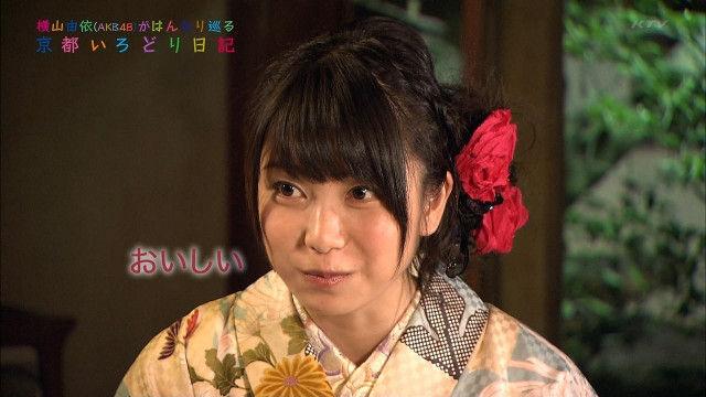 【エンタメ画像】【AKB48】横山由依「川栄がねぇねぇって肩たたいてくるふりして、ポテチ食べた手を拭いてくる。」