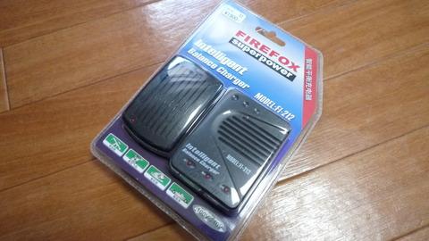 firefox バッテリー充電器