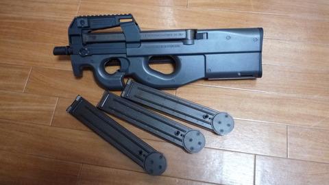 P90と170連マガジン