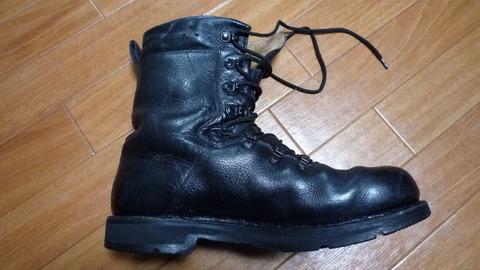 ドイツ連邦軍ブーツ