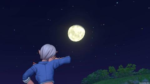 月がきれいだ