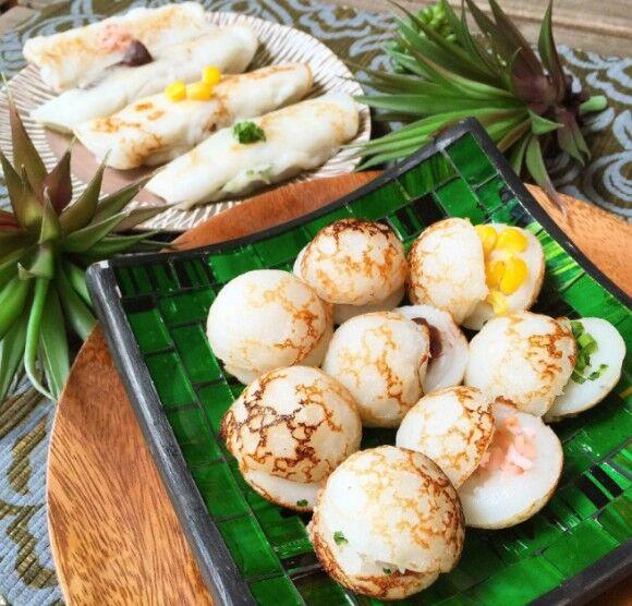見た目はタコ焼きだけど、食べてびっくりココナッツ風味が癖になる、タイ伝統のお菓子「カノムクロック」の作り方【ネトメシ】