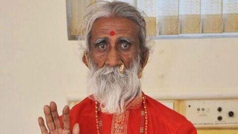 80年間飲まず食わず。インドのヨガ仙人が90歳死去