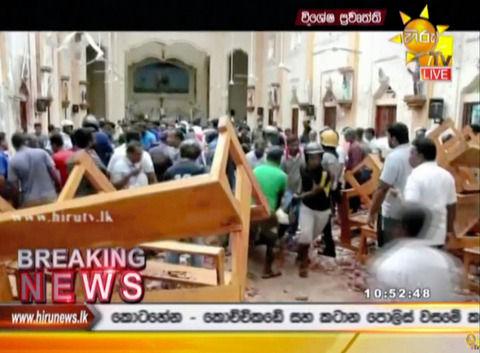 【スリランカ同時爆破テロ】「血の川が流れている」「司祭は血まみれで外に…」 死者は290人に