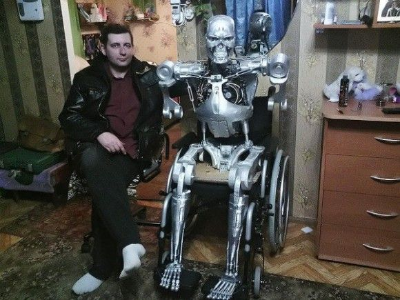 つくったった!ターミネーターを3Dプリンターで。ロシア人プログラマーが「T-800」を公開