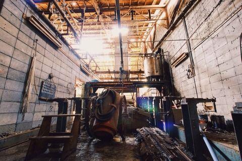 52.古い廃工場