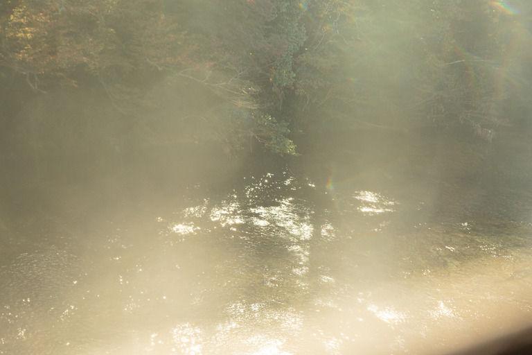 先日のお盆。実家からの帰り道、地元では心霊スポットと呼ばれる池の横を通るの。
