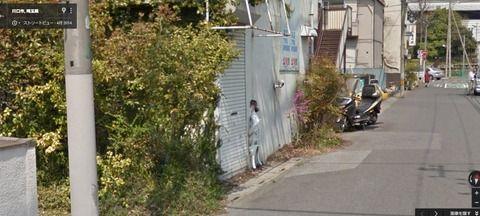 【画像あり】ストリートビューでめっちゃ恐いの見つけたんやけど!!