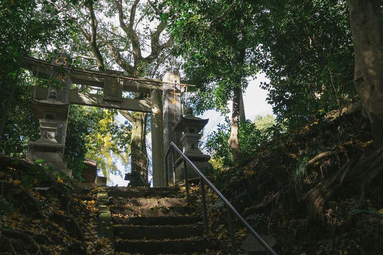 村内にある神社区内に「断頭場」って呼ばれてる場所がある
