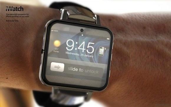 曲面ガラスを利用した腕時計