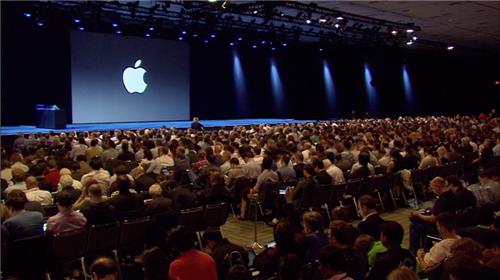 apple wwdc 2013 preshow audience
