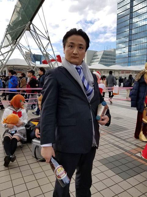 【悲報】貴乃花親方、コミケ会場に現る wwwww(※画像あり)