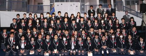 N高校の入学式、1人だけ橋本環奈レベルの美少女がいるwwwwwwww (※画像あり)