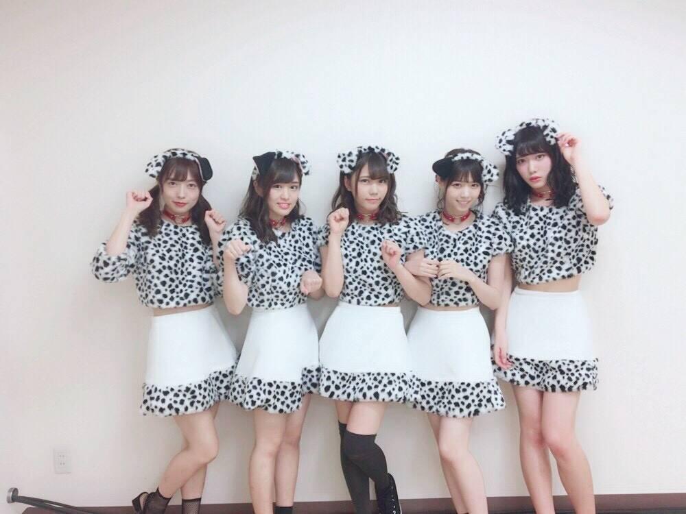 【乃木坂46】スイカメンバーの101匹わんちゃんハロウィン仮装
