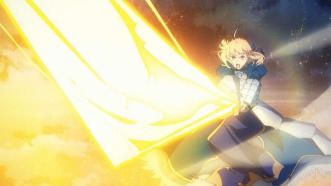 """【動画】『Fate』好きな夫婦が結婚式で夢だった""""エクスカリバー入刀""""を実現!羨ましすぎるうううう!!"""