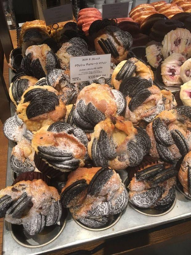 【画像】 パン屋さん、とんでもないオレオの使い方をする