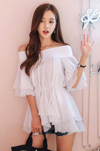 白石麻衣にそっくりな爆胸韓国人wwwww