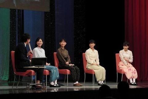 ももクロ百田夏菜子、NHKアナに強烈ツッコミ 「トチったでしょ」朝ドラプレミアムトークショーで