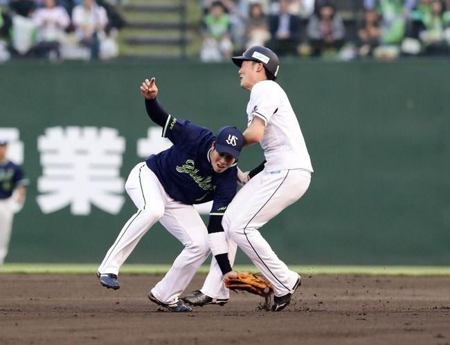 一昨日の山田源田の衝突事故