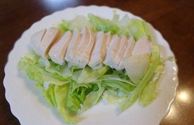 サラダチキン初めて食べてみた