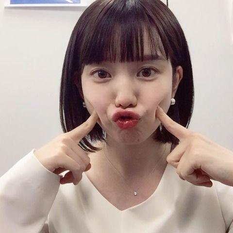 【画像あり】今一番可愛いアナ、弘中綾香ちゃんの変顔wwwwww