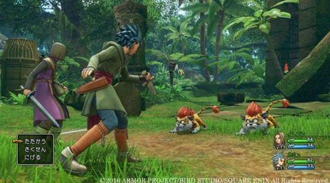 PS4版ドラクエ11の敵がお行儀良すぎるwwwwww
