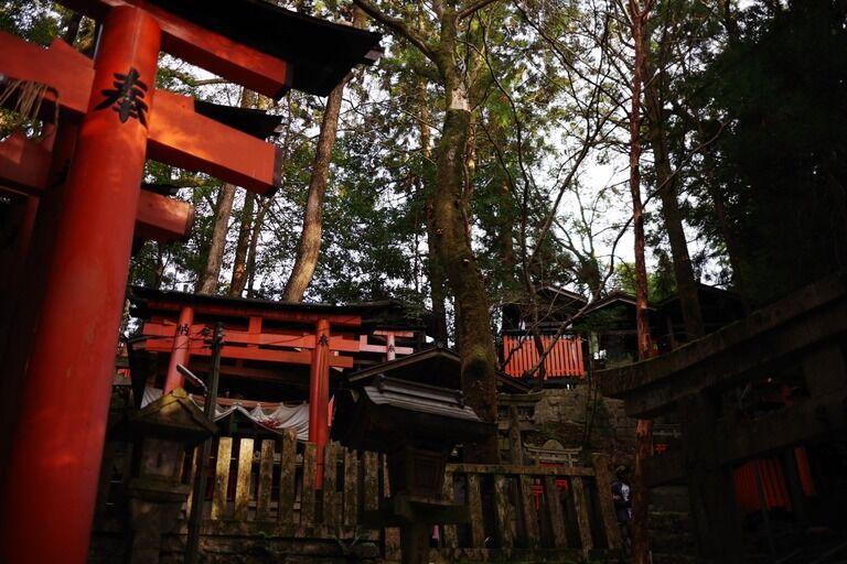 去年京都の某神社(有名所。一応名前伏せておきますが、丑の刻参り発祥って言われてる例の神社)に行ったときのこと。