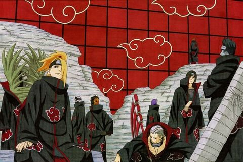 """「NARUTO」の暁とかいう、基本""""相性負け""""で倒される可哀想な集団・・・"""