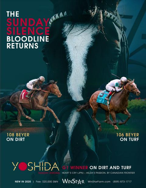 【競馬】ヨシダの種牡馬広告がかっこ良すぎる件