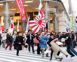 渋谷デモに朝鮮人乱入1